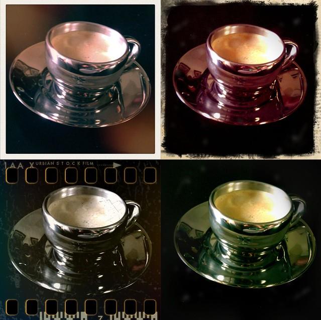 Espresso cup in Retrocamera