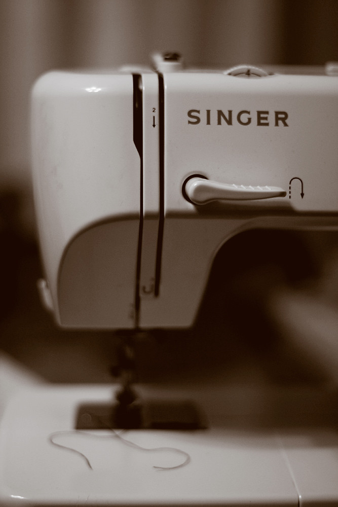 Sepia 15/30:  Misbehaving Sewing Machine