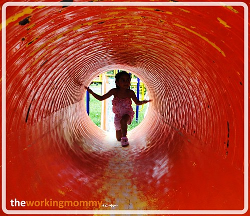 Tunnel in the playground