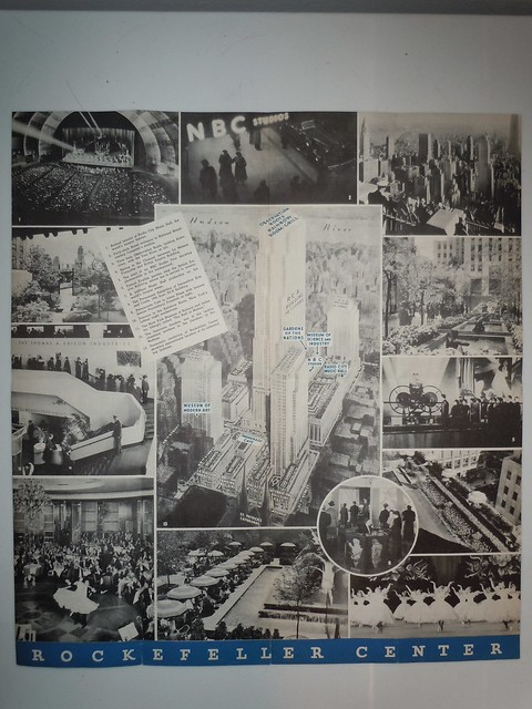 1940's Era Rockefeller Center-Radio City Brochure 006