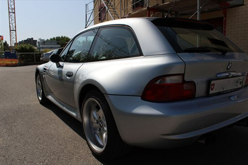 1999 M Coupe | Arctic Silver | Black