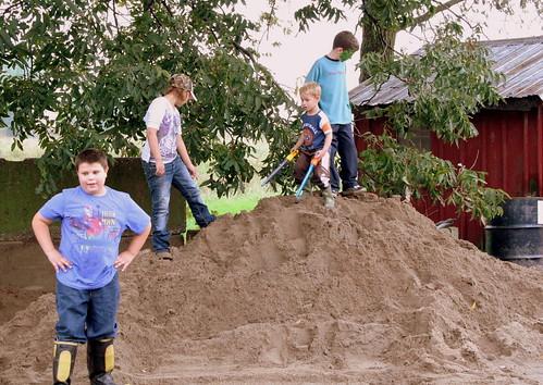 Sand Pile Boys