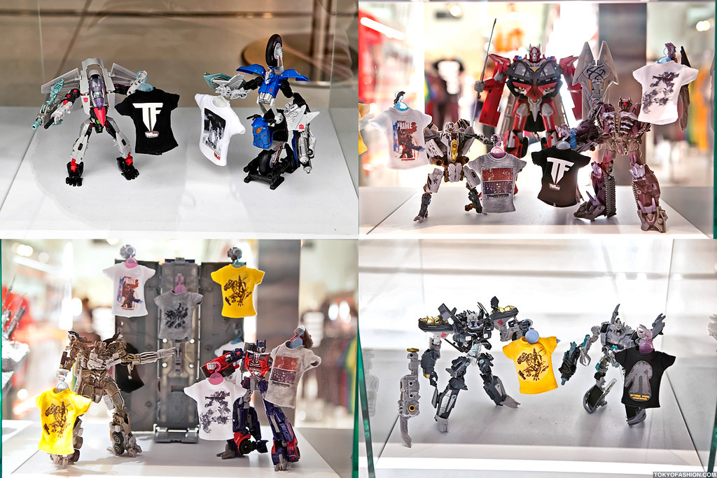 UT Harajuku x Transformers