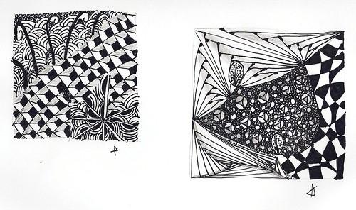 first zentangles