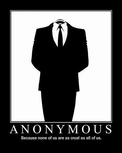 AnonymousBecause