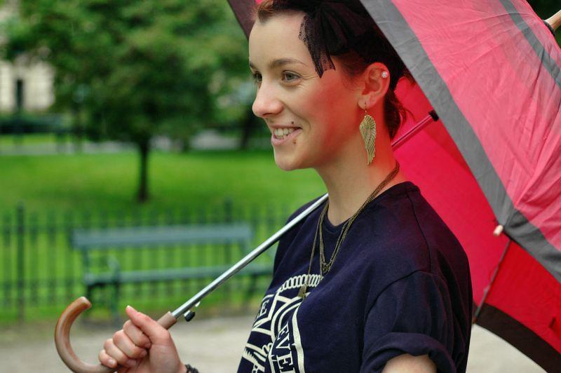diva na urlopie fashion blog basement jaxx raindrops