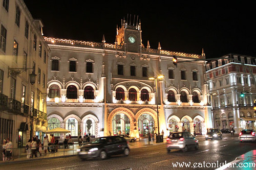 Estação de Caminhos de Ferro do Rossio (Rossio Railway Station), Lisbon