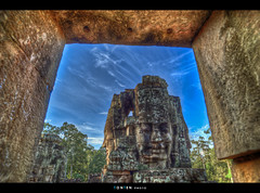 Bayon Temple | EXPLORED (Ton Ten) Tags: temple cambodia den siemreap bayon bayontemple 4mat