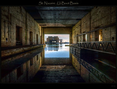 St. Nazaire - submarine base (explored) (Kemoauc) Tags: france nikon brittany submarine base hdr nazaire d90 nikond90 kemoauc
