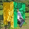 Sittin! (hansn (3.5+ Million Views)) Tags: sculpture square europa europe sweden skulptur sverige sittin sculpturepark squarish skulpturpark marsvinsholm marsvinsholmsslott marsvinsholmsskulpturpark andersvardaam