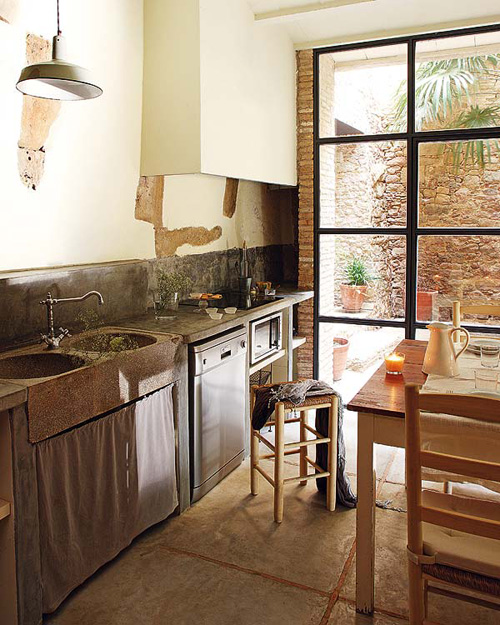 3 Home Decor Trends For Spring Brittany Stager: An Old Renovated Spanish Farmhouse