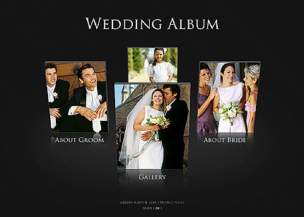 Flash site 23684 Wedding album