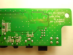 Monotribe interface board bottom side