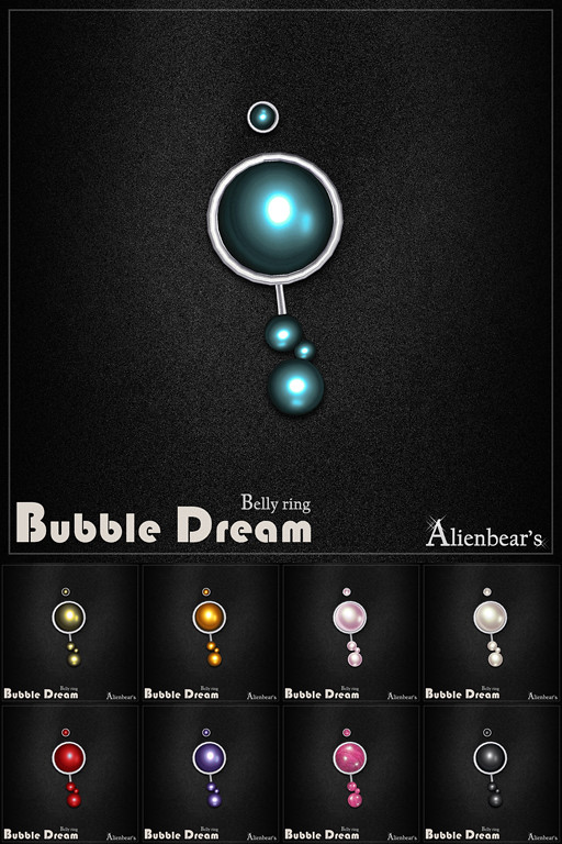Bubble Dream belly ring all