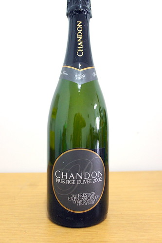 domain chandon Prestige Cuvee 2002