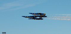BlueAngels_Inversion (Soopah Troopah) Tags: beach nikon florida aviation jets airplanes navy airshow jacksonville blueangels d40 nikond40