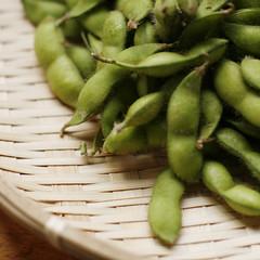 だだ茶豆 - dada cha mame (hiromi kawaguchi | 川口 裕美) Tags: green japan canon beans mame 日本 nippon 東北 tohoku yamagata 山形 tsuruoka 枝豆 鶴岡 400d だだ茶豆