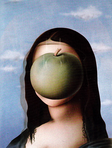 Magritta Lisa by Terry Pastor, 1974.
