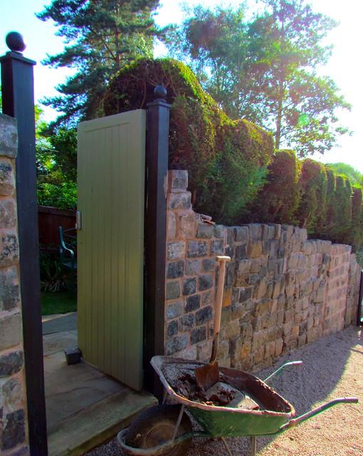 Gate to nice garden