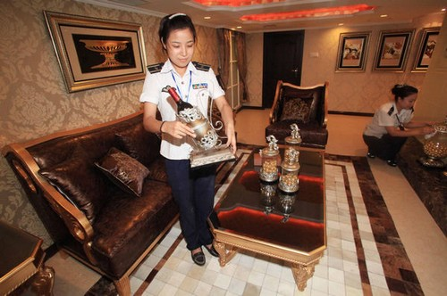 China's Aircraft Carrier Hotel