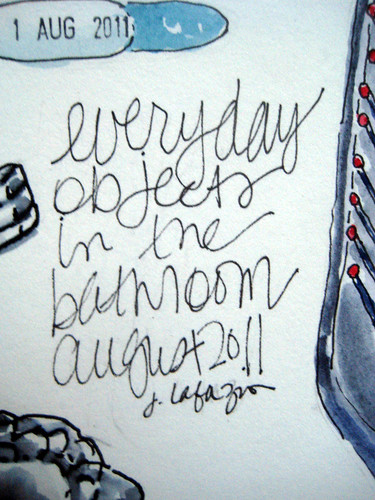 everyday objects ~ from the bathroom