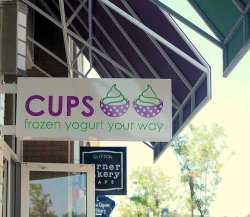 Cups - Outdoor Signage