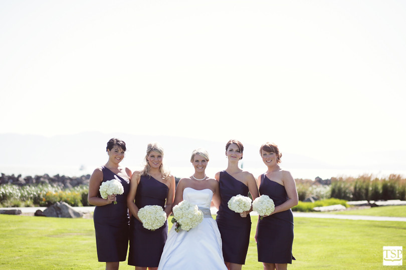 Hotel Bellwether Bride and Bridesmaids