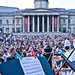 Music at the ready in Trafalgar Square © ROH 2011