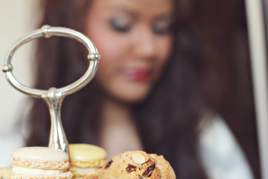macarons at le maître chocolatier