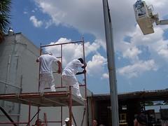 100_0187 (Apruesing) Tags: training boom scaffold painters pompanobeach fti swingstage highreach iupat ffti dc78 finishingtradesinstitute