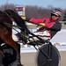 18 - race 3 - Marshall R. Makin behind Cheer's Princess