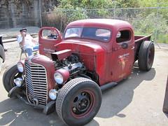 1939 IH pickup (bballchico) Tags: rebelriot 1939 internationalharvester ih pickup truck rebelriotatthenewfrontierloungetacomawa rockabilly ratrods carshow 206 washingtonstate