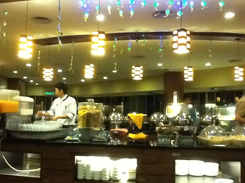 Breakfast buffet at Cititel by DATMO