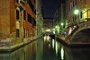 Venetian Canals at Night (Seth Oliver Photographic Art) Tags: venice italy reflections landscapes nikon europe cityscapes nightlight nightshots pinoy 30secondexposure nightscenes longexposures veniceitaly travelphotography d90 nightexposures wetreflections veniceatnight canalsofvenice medievalcities autowb iso159 aperturef100 europeantravels manualmodeexposure setholiver1 nocturneimages tamron1024mmuwalens vacationimages ballheadtripodmountedshot timedelaytriggeredshot almostsoocexceptforstraighteningandminorcrop