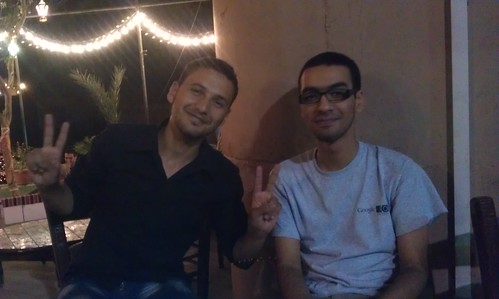 Mahmoud Ibrahim (left) and Islam Wazery (right)