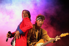 Mick and Keith, Rolling Stones Tribute, Australia