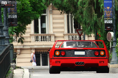 Forty (Raphaël Belly Photography) Tags: red paris car de french rouge photography eos hotel riviera photographie awesome ferrari casino montecarlo monaco belly exotic f 7d passion 40 carlo monte raphael rb spotting forty supercars f40 raphaël principality quarante worldcars