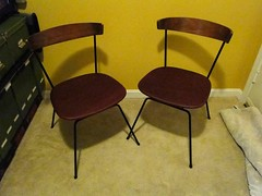 Plywood Chairs - AFTER