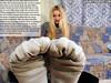 Emily01 (gtsblade) Tags: feet socks foot sock squish crush giantess gts shrink shrunkenman