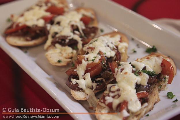 Krazy Garlik Garlic Bruschetta