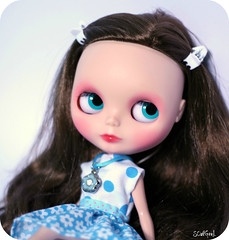 Sweet Lily in blue :)