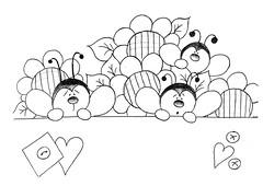 Abelinhas (Acrilex) Tags: artesanato fofo desenho pintura bichinhos risco riscos acrilex