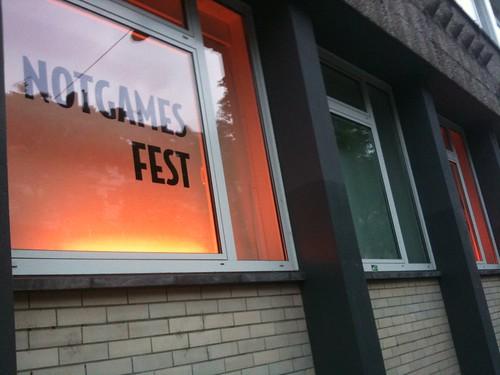 NOTGAMES FEST Aug. 15-17 2011