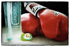 """""""Masculinity is not something given to you, but something you gain. And you gain it by winning small battles with honour"""" (BGDL) Tags: baby nikon lewis manualfocus waterbottle pacifier boxinggloves d80 flickraward ourdailychallenge"""