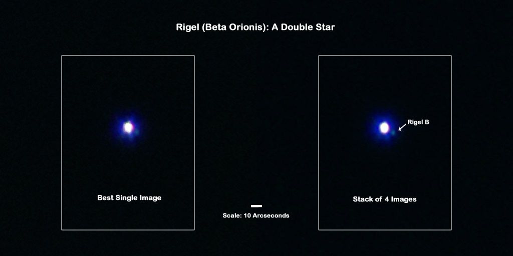 Rigel: A Double Star