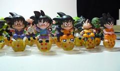 Dragon Ball mini balls - 80pc. (wilbura59) Tags: dragonball dragonballz dbz dragonballgt miniballs dragonballkai