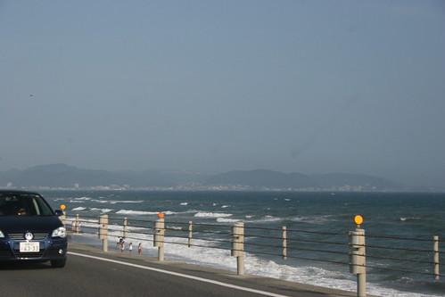 Driving to Kamakura