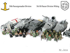 My German army, huge update! (MR. Jens) Tags: world two norway infantry finland germany denmark soldier switzerland war track hungary wiking lego sweden swiss iii wwii ss swedish norwegian german danish half bmw ww2 40 division finnish r75 88 36 5th 20th flak soldat panzer halftrack pak hungarian 251 sdkfz sturmgeschtz stug spw sonderkraftfahrzeug r71 brickarms schtzenpanzerwagen brickmania