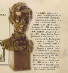 Brenner's Beardless Lincoln Bust