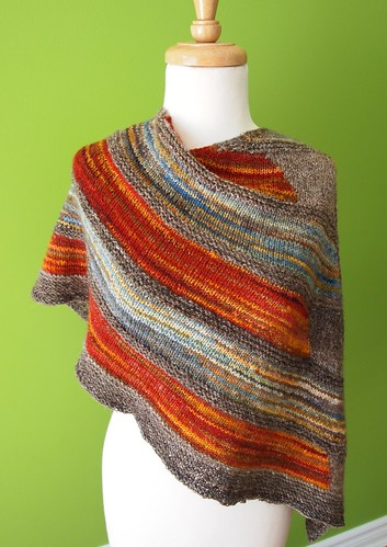 Earth & Sky shawl # 1